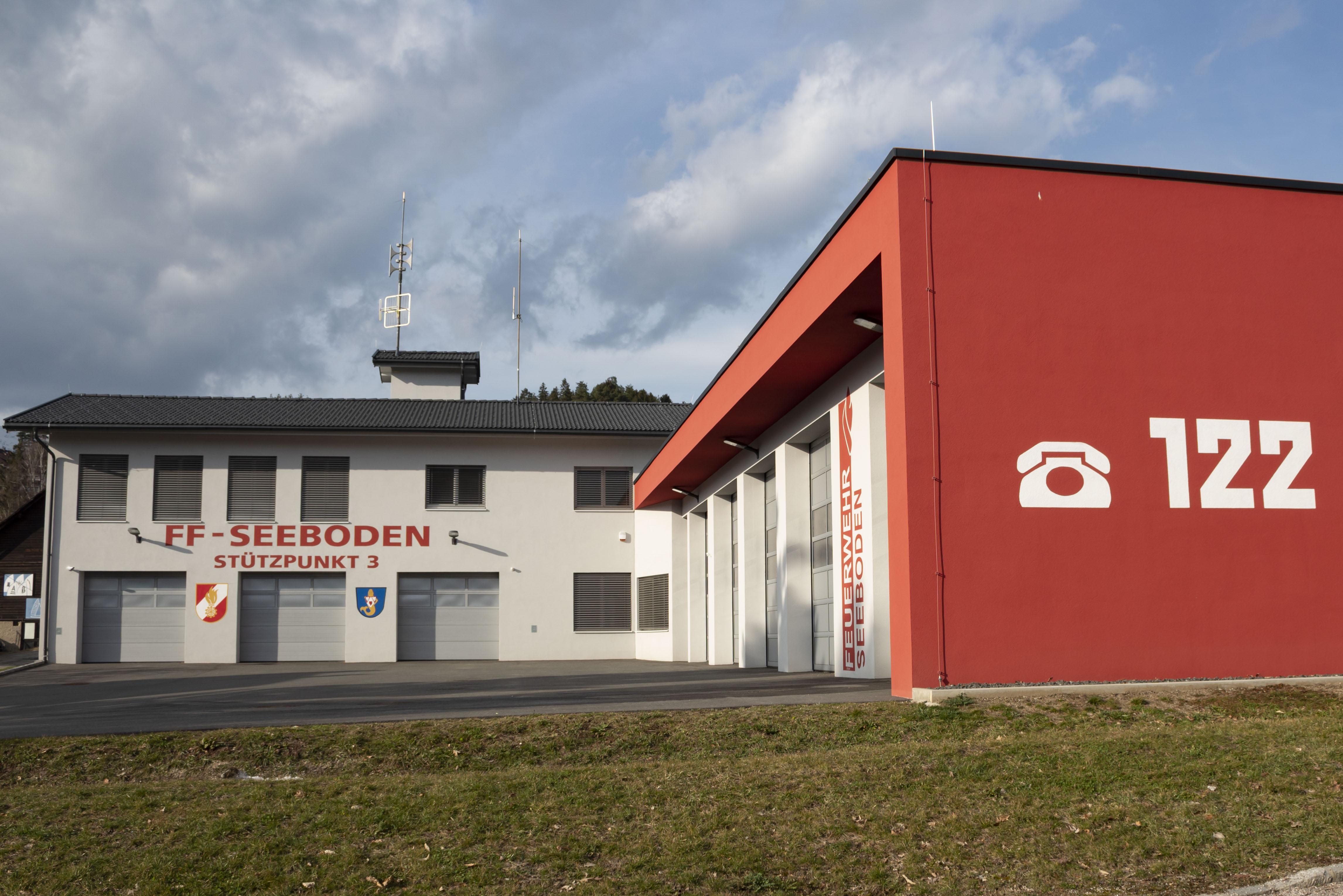 Feuerwehrhaus der FF Seeboden