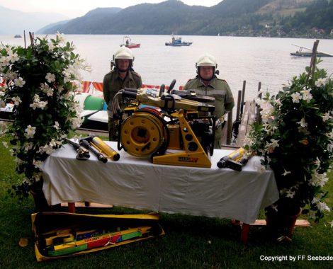 Feuerwehrbootweihe